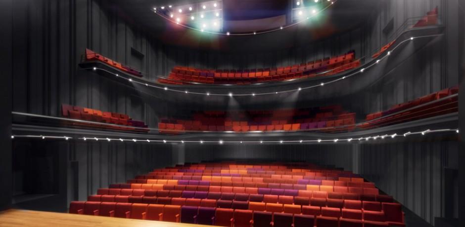 HOME theatre 1 concept. Image: Mecanoo International