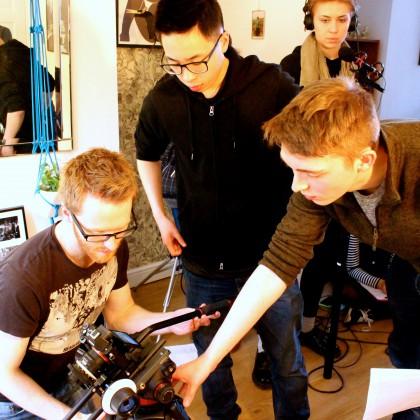 HOME Young Creatives BFI Film Academy Shoot 291