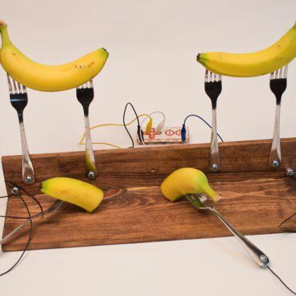 Banana piano. Photo credit Pete Prodoehl