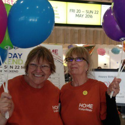 Volunteer birthday wishes