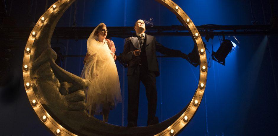 9. Rosalie Craig and Rory Kinnear in The Threepenny Opera. Photo by Richard Hubert Smith